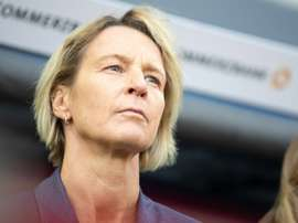 Germany boss Martina Voss-Tecklenburg has announced her squad for the Womens World Cup. AFP