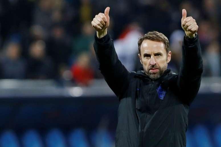 Southgate 'espiará' o Liverpool no Mundial de Clubes. AFP