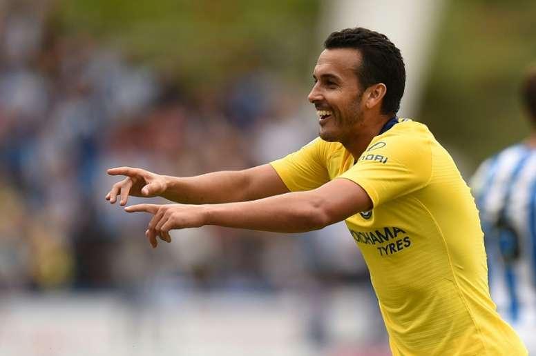 La Roma espère l'arrivée de Pedro. AFP
