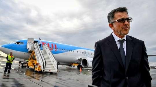 El técnico se convirtió en el seleccionador de Paraguay la semana pasada. AFP