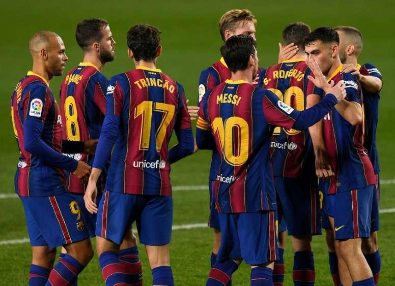 Principio de acuerdo para la rebaja salarial en el Barça. AFP