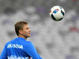 Shatov scored the only goal of the game for Zenit. AFP
