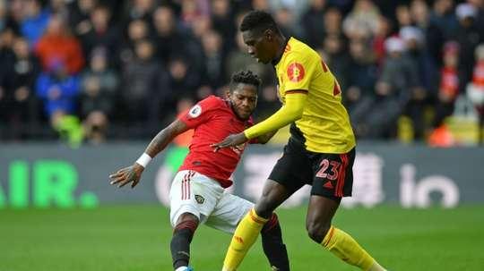 Manchester United ne lâche pas pour Ismaïla Sarr. AFP