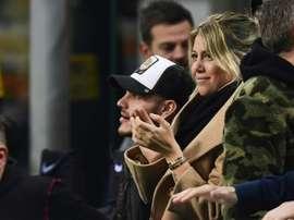 Wanda Nara confirma que Icardi continuará no Inter. AFP