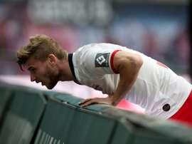 Liverpool jette l'éponge pour Werner et laisse le champ libre à l'Inter. AFP
