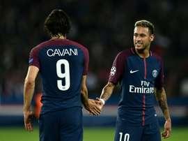 Neymar est le meilleur passeur du championnat. AFP