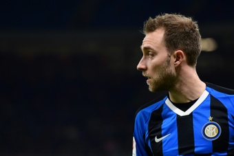 Eriksen may not be able to continue in Serie A. AFP