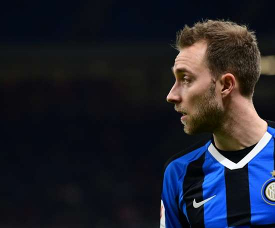 Eriksen's ordeal: from Tottenham to living in Inter's training ground. AFP