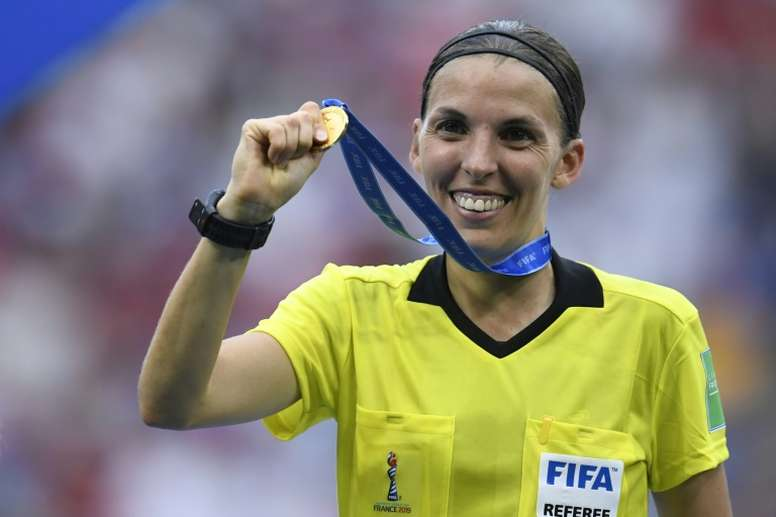 French referee prepares to make history in Super Cup. AFP