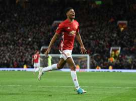 Rashford redeemed himself having missed clear chances in the regular time.