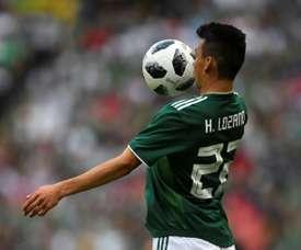 Lozano could shine. AFP