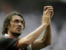 Ex-Italy captain Paolo Maldini was diagnosed with coronavirus. AFP