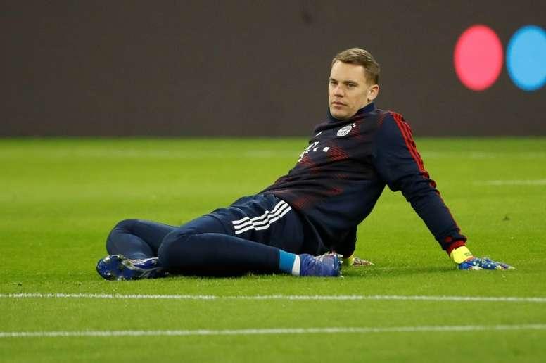 Neuer apporte son soutien au club. AFP