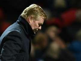 Koeman esperaba más del holandés. AFP