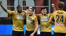 Lasagna (c) interesa al Inter. AFP