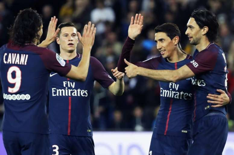 PSG have cruised to the league title. AFP