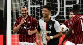 Pour Zaccheroni, Zlatan a plus marqué le football italien que Ronaldo. afp