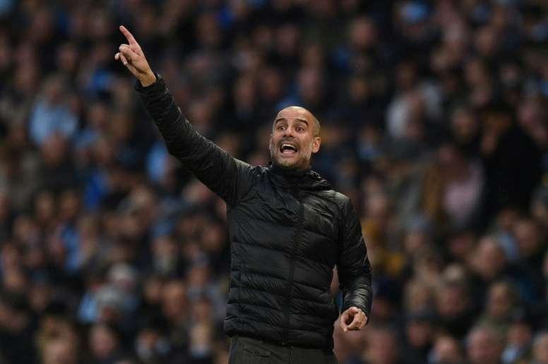 Guardiola piensa en Italia como una opción de futuro. AFP