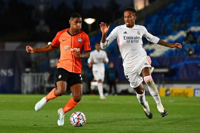 Militao linked with Tottenham. AFP