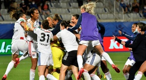 Lyon lift Women's French Cup as Champions League warm-up. AFP