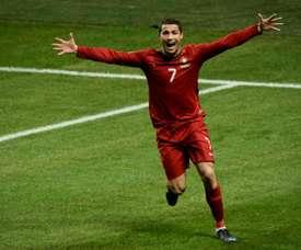 Ronaldo tornerà in campo contro la Svezia. AFP