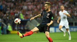 Rakitic met un terme à sa carrière internationale. AFP