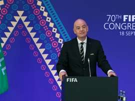 Infantino claims FIFA purged of 'toxic' corruption