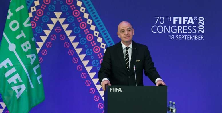 Infantino claims FIFA purged of 'toxic' corruption