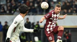 Lukas Podolski atuará nesta temporada com o Antalyaspor. AFP