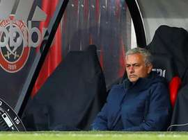 Mourinho isn't happy. AFP