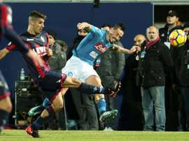 Hamsik ensures Napoli end year on top
