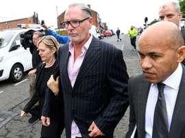 Gascoigne ha pasado por varias clínicas de desintoxicación. AFP