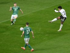 Gnabry scored a hat-trick to make sure Germany topped their Euro 2020 qualifying group. AFP