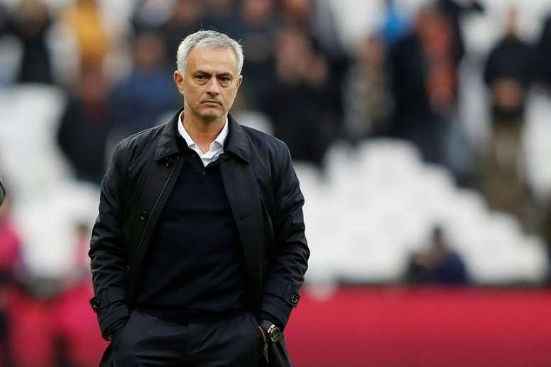 Mourinho a expliqué pourquoi il vivait à l'hôtel à Manchester United. AFP