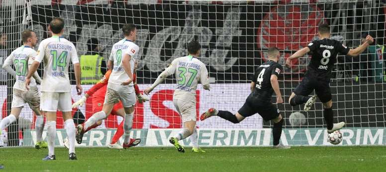 Jovic será propiedad del Eintracht este mismo mes. AFP