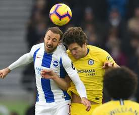 Murray double fires Brighton into FA Cup fifth round