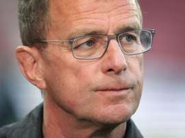 Leipzig coach thinks it will help his side if Bayern do not win the title. AFP