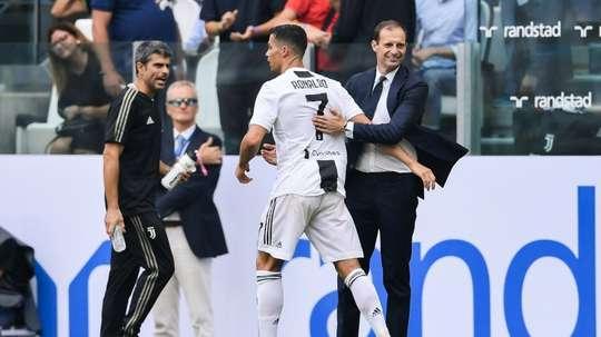 El gol de Cristiano fue una de las cosas más destacadas del fin de semana. AFP