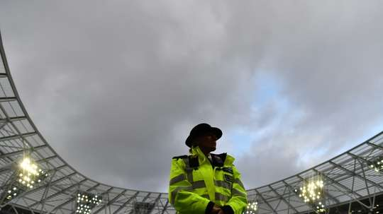 London Stadium has been marred by ugly scenes on numerous occasions in recent seasons. AFP
