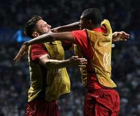Crystal Palace intéressé par le jeune Brewster. AFP