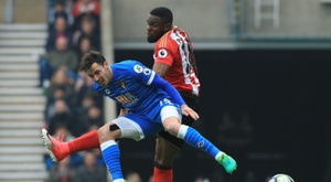 Anichebe played for three Premier League clubs. AFP