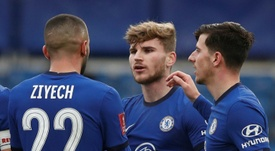 Chelsea through to next round with Morecambe win. AFP