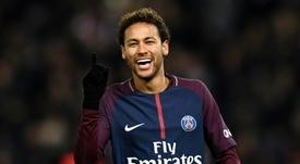 Neymar pasó de los rumores. AFP