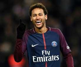 Neymar très courtisé par le Real. AFP