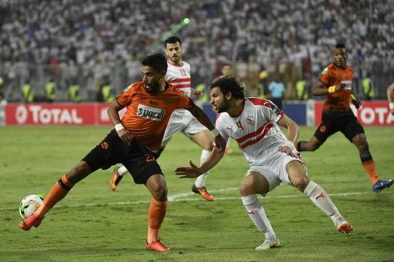 El fútbol egipcio, en jaque por el Zamalek y el Al Ahly. AFP