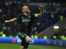 Klaassen wants Europa League glory. AFP