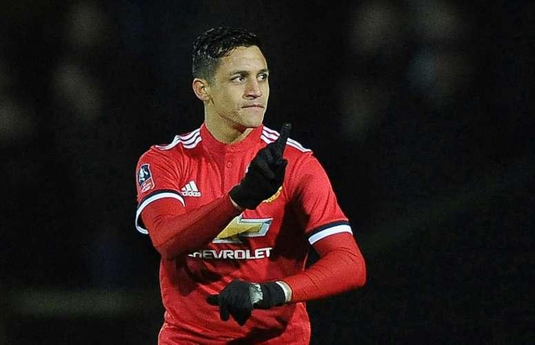 Alexis estreou-se diante do Yeovil Town. AFP