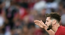 Lallana unlikely to play for Liverpool again, says Klopp. AFP