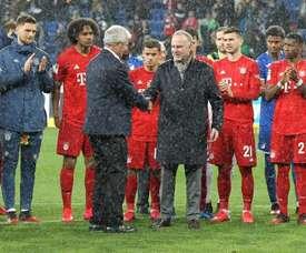 Bayern won 6-0. AFP