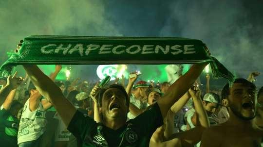 Chapecoense podría hacerse con los servicios de Zeballos. AFP